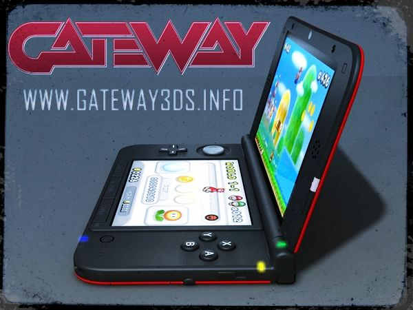 Gateway 3DS #1 Nintendo 3DS Rom Flash Card »